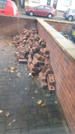 Free Bricks and rubble to brick