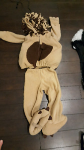 Halloween costume lion warm 4T to5T