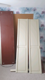 Wardrobe / cupboard wooden good quality used dismantled
