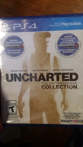 Brand new uncharted ps4 game