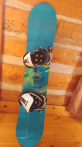 Kid's Snowboard & Boots for Sale