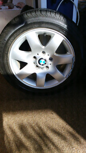 Bmw 325 rims and tires