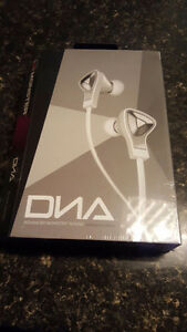 DNA in ear headphones