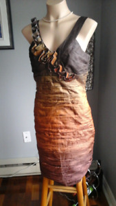 Very unique cocktail dress - Very flattering  Size 10