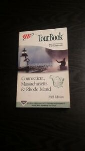 TourBook - Connecticut, Massachusetts & Rhode Island