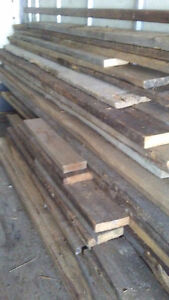SPECIAL REDUCED PRICE !!!    2 inch to 3 inch THICK BARN BOARD
