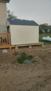 Storage Shed 8x10 For Sale, 800 Dollars Firm