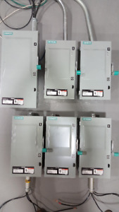 Electric panels Brakers Disconnects Transformers
