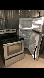 Fridge and stove for sale!