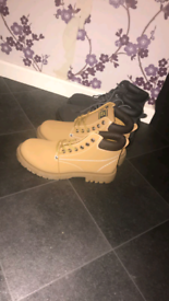 2 pair of boots