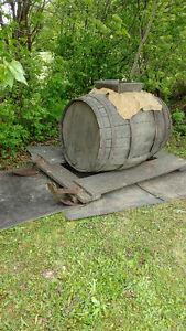 Antiquite Tonneau  d eau d erable
