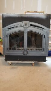 Napoleon wolf steel NZ6000 wood burning fireplace