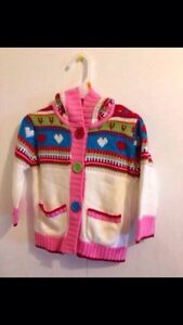 BRAND NEW KNIT HEARTS SWEATER