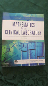 Mathematics for the clinical laboratory textbook
