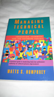 Managing Technical People by Watts S. Humphrey