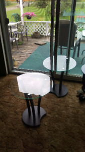 2 side table's or end table's
