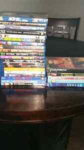 Blu ray dvd lot