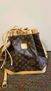 LV BAG AND HAT