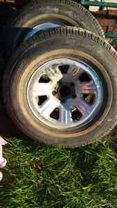 snow tires and rims Kitchener / Waterloo Kitchener Area image 4
