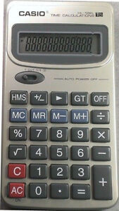 Casio HL122-L Calculator (time calculations) ret. $27.50