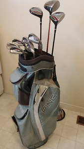 Ping 12pc set R/h with Ping bag $360