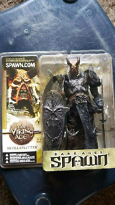 Various Spawn action figures $350
