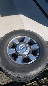 2011 FORD F350 WHEELS AND TIRES
