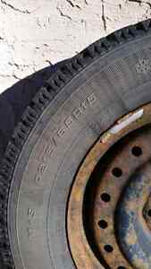 Goodyear Nordic studded winter tires