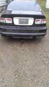 Honda civic rear bumper slip over ground effects