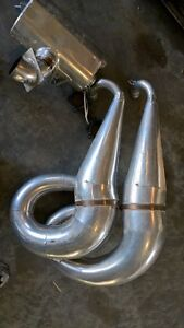 twin pipes for Arctic Cat