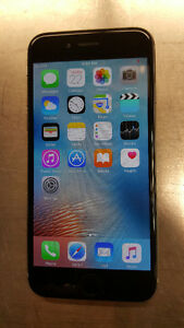Bell / Virgin iPhone 6 64gb, Space Gray  Good Condition