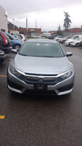 2016 Honda civic.automatic .finance available
