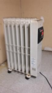 Unité de chauffage à huile 120v