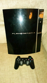 Ps3 3.55 with 15 games and a new controller £70