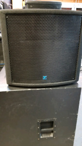 """Yorkville Pulse PS210PX dual 10"""" Subwoofer 300W"""