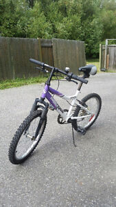 Girls bike in good condition