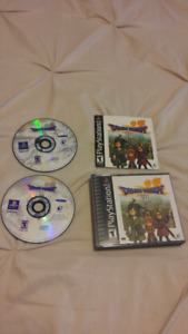 Dragon Warrior / Quest 7 for PS1 PlayStation, mint condition