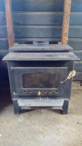 Wood stove and pipe