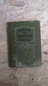 1916 Kindness the Crowning Virtue by David C. Cook  Devotional