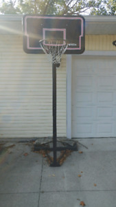 BASKETBALL net, backboard and post