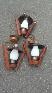 Plafonniers rustique