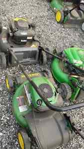 3 lawn mowers fixer uppers $25 each 3 for $50