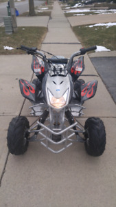 ATV. Brand new. Used once