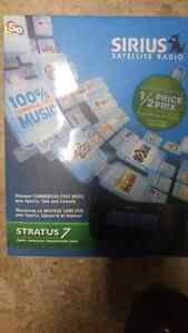 Serius satellite radio stratus 7 car kit brand new