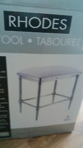 Bathroom stool new