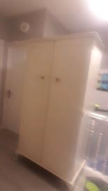 Cream wardrobe