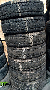 Used 225-70-19.5 Continental HDR tires (LR-G) (14 Ply)