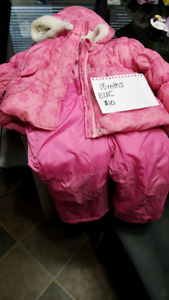Pink Snow Suit 18 mths