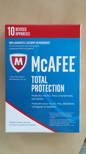 McAfee Total Protection 2017 (PC/Mac/Android/iOS),10 devices, 1y