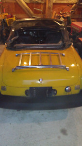 FOR SALE 1978 MGB Mark IV. Running condition, new leather seats,